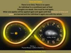 Time, space and eternity